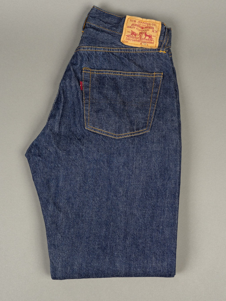 TCB 60´s unsanforized Japanese denim Jeans