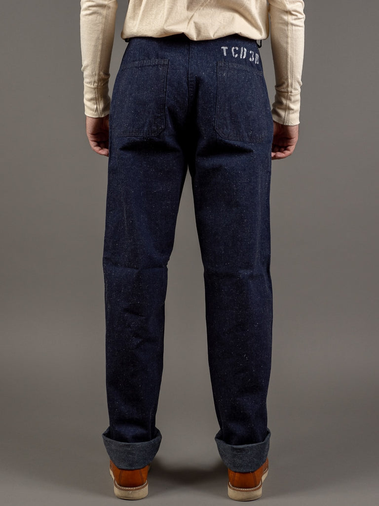 tcb usn seamens vintage navy inspired trousers back