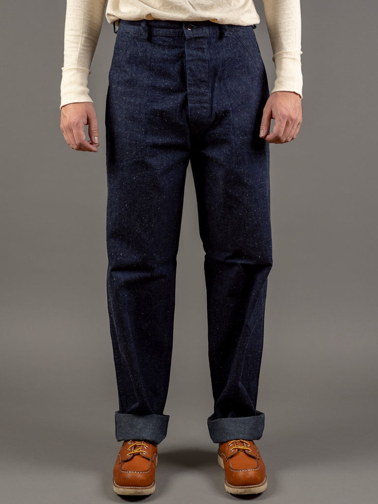 tcb usn seamens vintage navy inspired trousers front