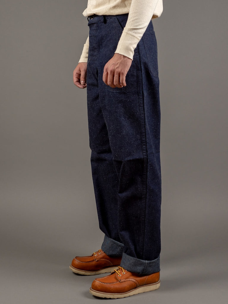 tcb usn seamens vintage navy inspired trousers side