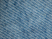 Tender Boomerang Prussian Blue Dye Jacket cotton fabric