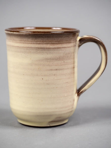 Tender Round Bottom Mug Clear Glazed Natural White