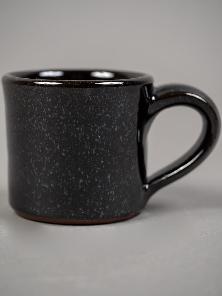 Tender espresso cup black glazed