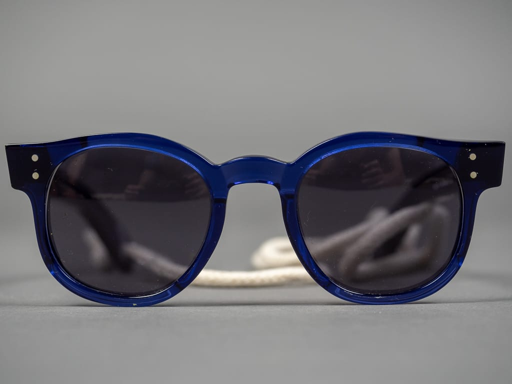 Tender Bluebottle Slimmer Flat Top Sunglasses front