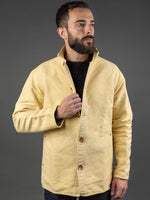 Tender Janus Jacket Iron Rust Dyed Unfinished Cotton Molleton