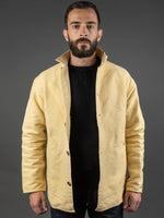 Tender Janus Jacket Iron Rust Dyed Cotton canvas