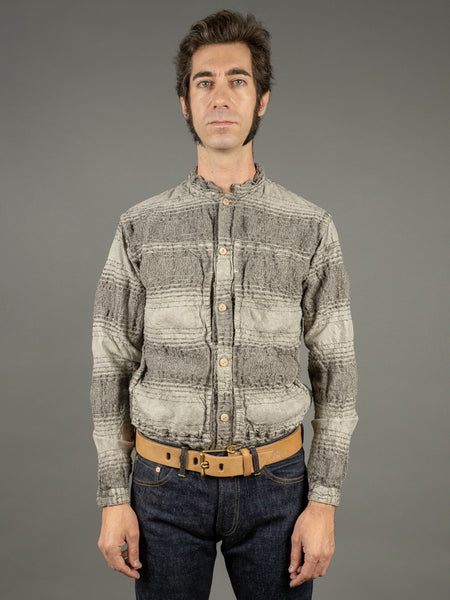 Tender Periscope Pocket Tail Shirt ryeland wool front