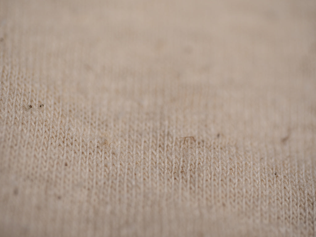 unbleached medium weight ecru single jersey fabric by the rite stuff