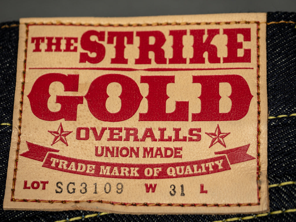 deerskin leather patch of the strike gold 3109