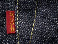 the strike gold 6109 slubby jeans red tab