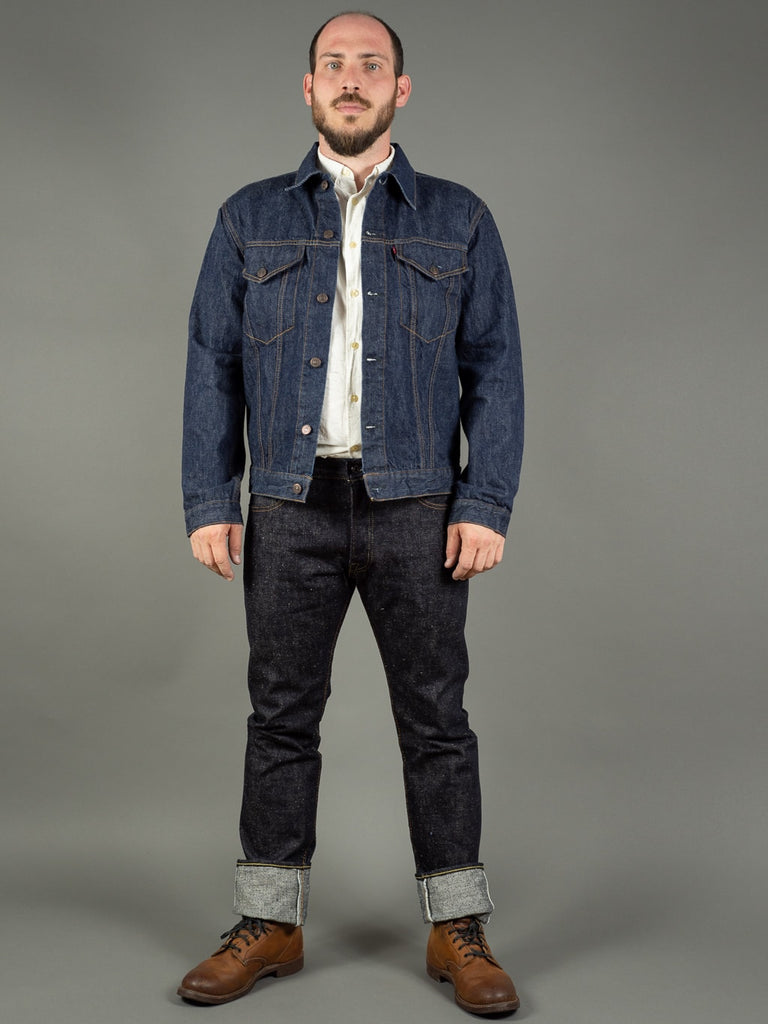 the strike gold 6109 slubby jeans raw japanese denim