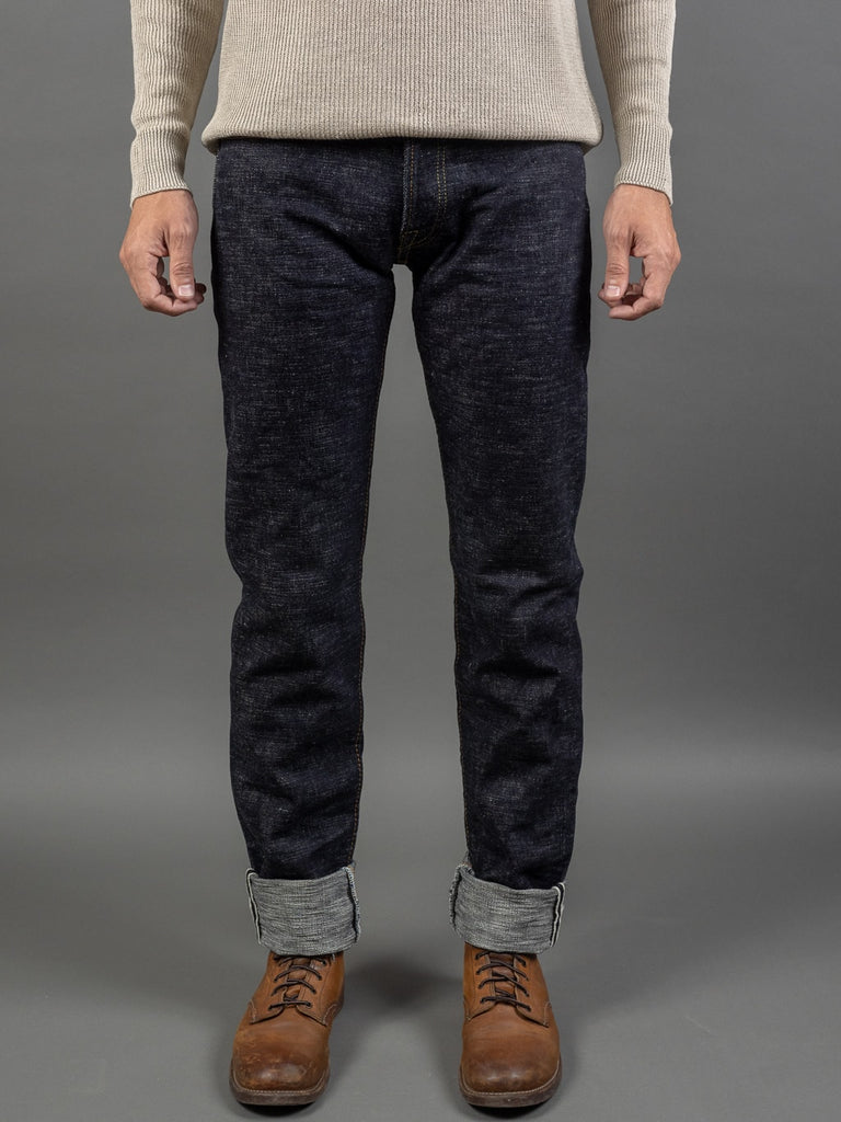 The Strike Gold 7104 Ultra Slubby selvedge Jeans