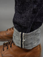 The Strike Gold 7104 Ultra Slubby Jeans gold selvedge line
