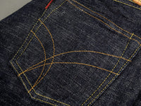 The Strike Gold 7104 Ultra Slubby Jeans pocket detail