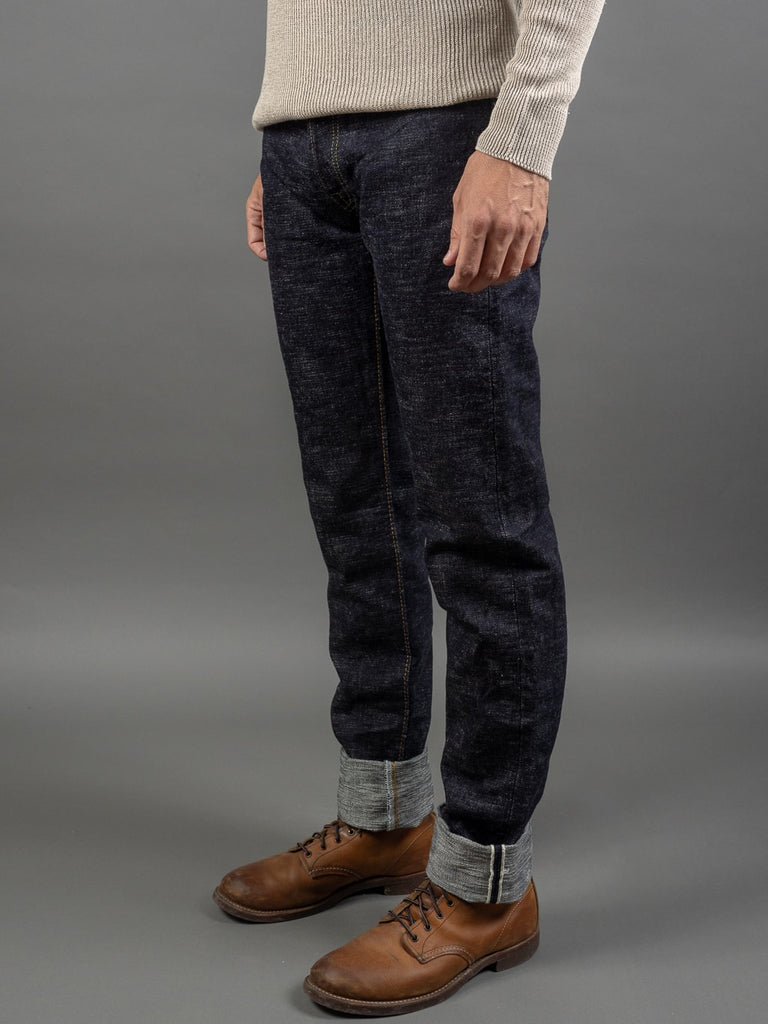 The Strike Gold 7104 Ultra Slubby Jeans side