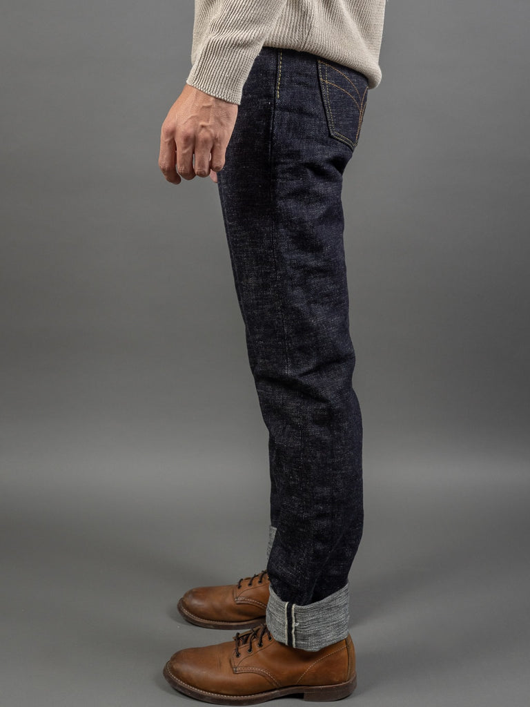 The Strike Gold 7104 Ultra Slubby Straight Tapered selvedge Jeans