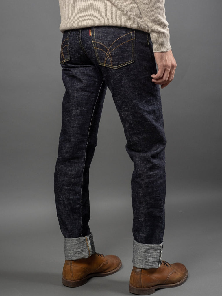 The Strike Gold 7104 Ultra Slubby Jeans back
