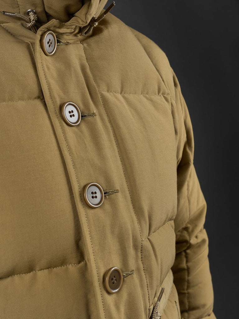 Trophy Clothing Alpine kawada Down Coat 800 fill power buttons