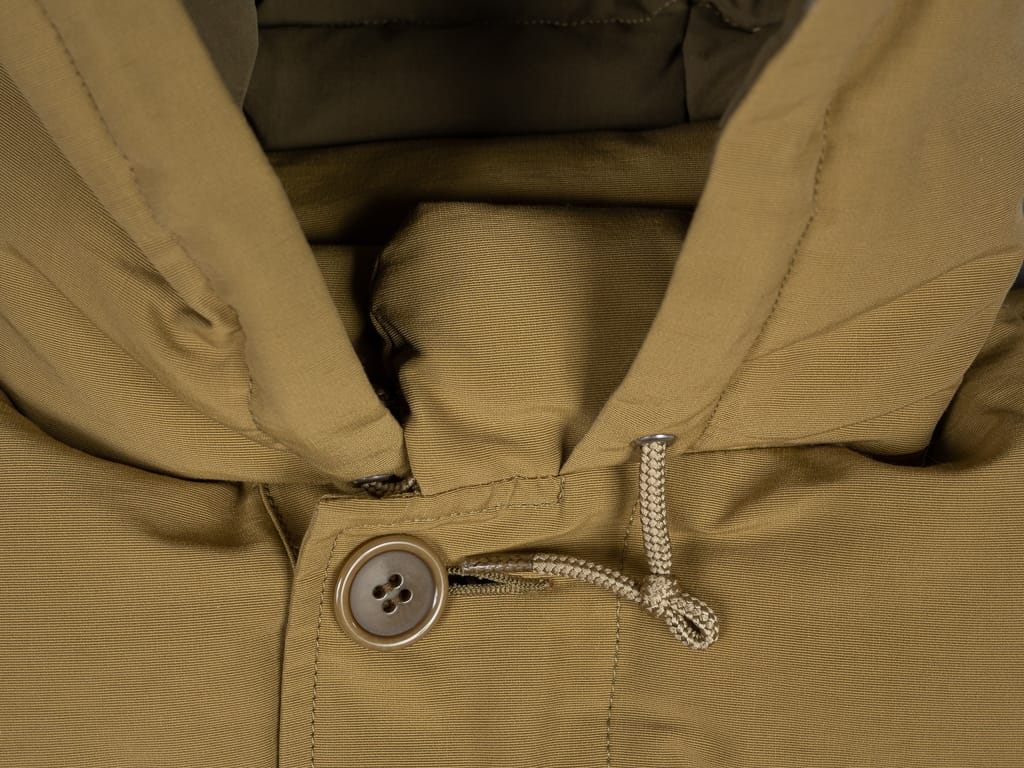Trophy Clothing Alpine Down Coat 800 fill power collar button