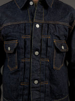 trophy clothing authentic type ii denim jacket chest pockets