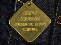 trophy clothing authentic type ii denim jacket detail