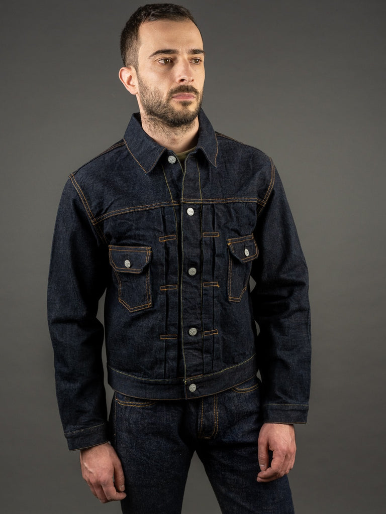 trophy clothing authentic type ii denim jacket