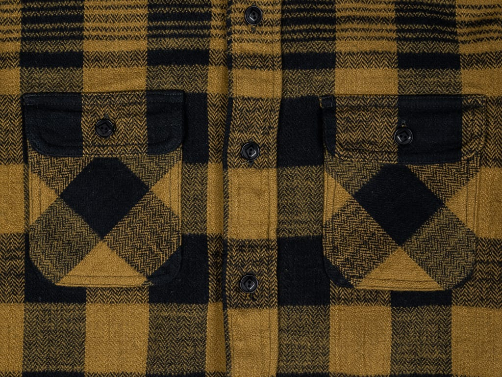 Trophy Clothing Buffalo Shirt heavy flannel pockets