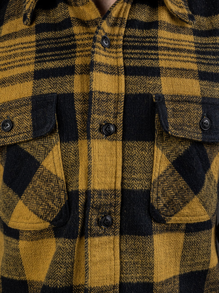 Trophy Clothing Buffalo Shirt heavy flannel chest pockets