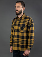 Trophy Clothing Buffalo Shirt heavy flannel mustard