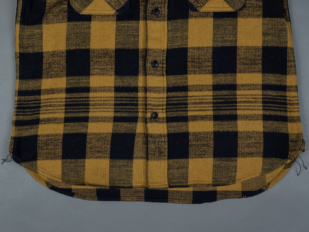 Trophy Clothing Buffalo Shirt heavy flannel waist