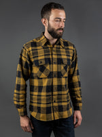 Trophy Clothing Buffalo Shirt herringbone pattern