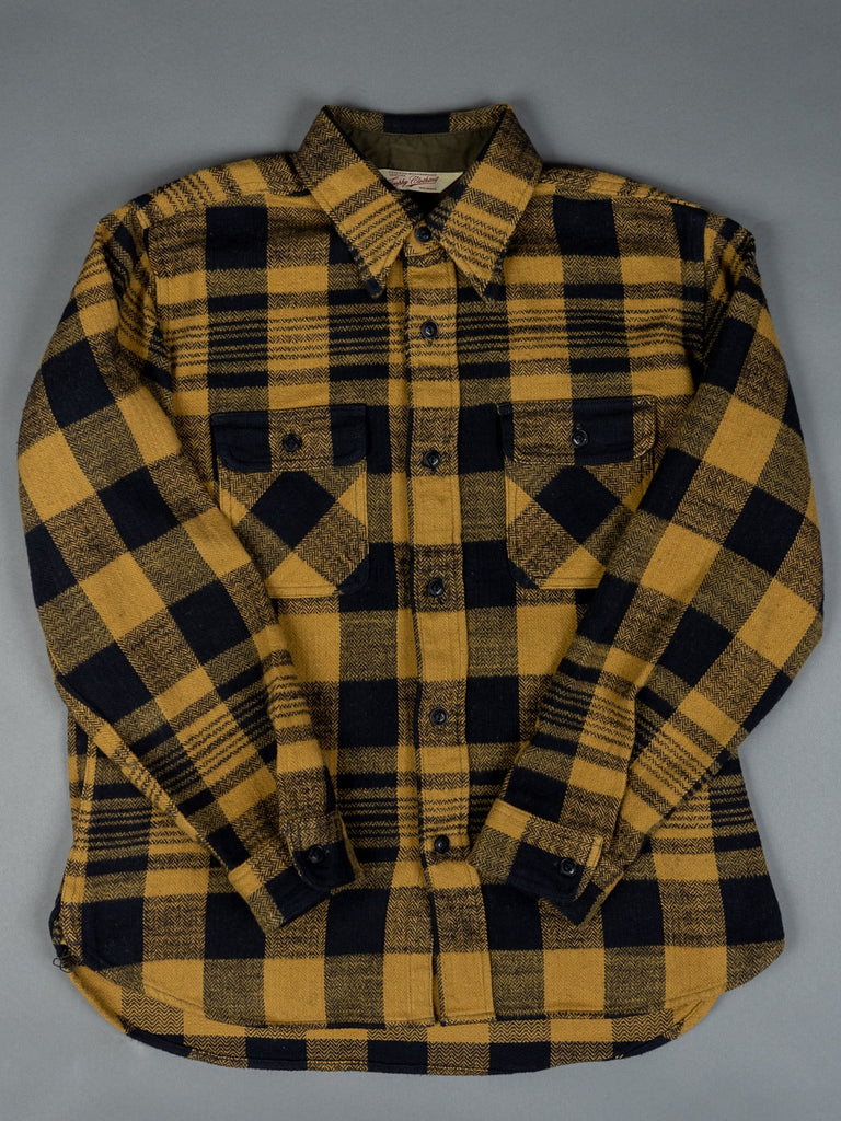 Trophy Clothing Buffalo Shirt heavy flannel cotton