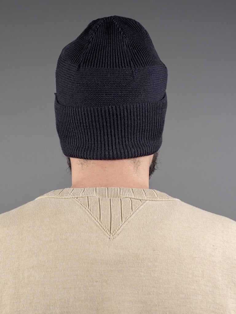 Trophy Clothing Guernsey Knit Cap Charcoal back