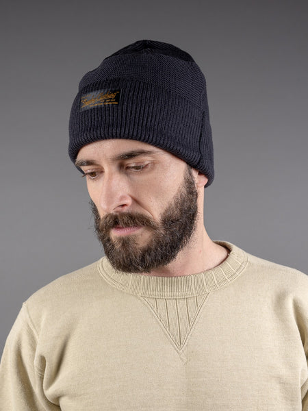 Trophy Clothing Guernsey Knit Cap Charcoal