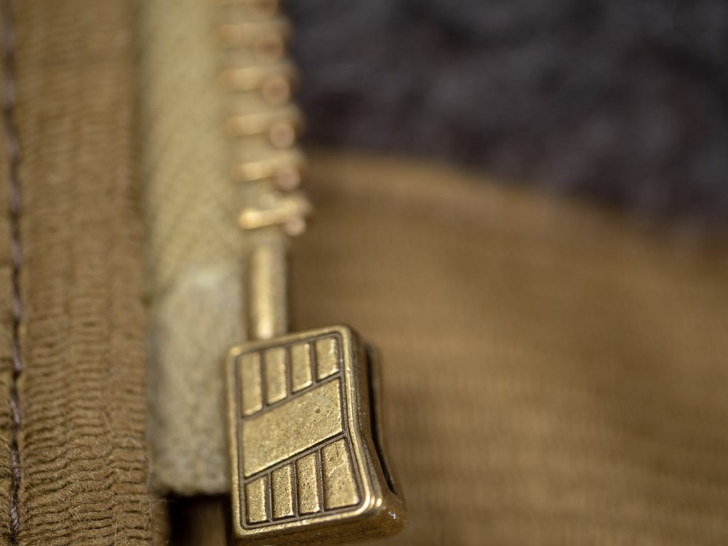 zipper of Trophy Clothing N1 Jacket