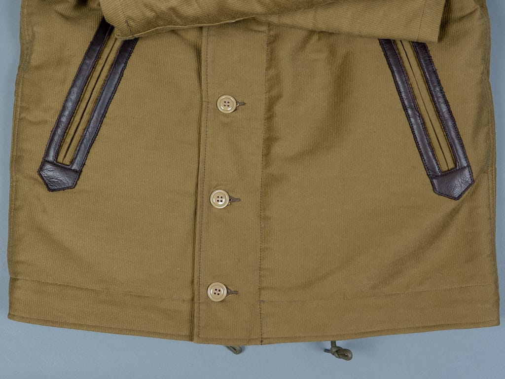 pockets of Trophy Clothing N1 Jacket khaki