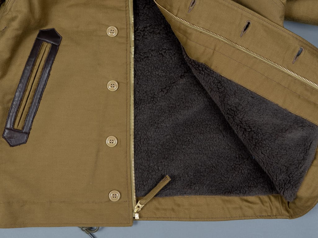 Trophy Clothing US Navy N1 Jacket interior