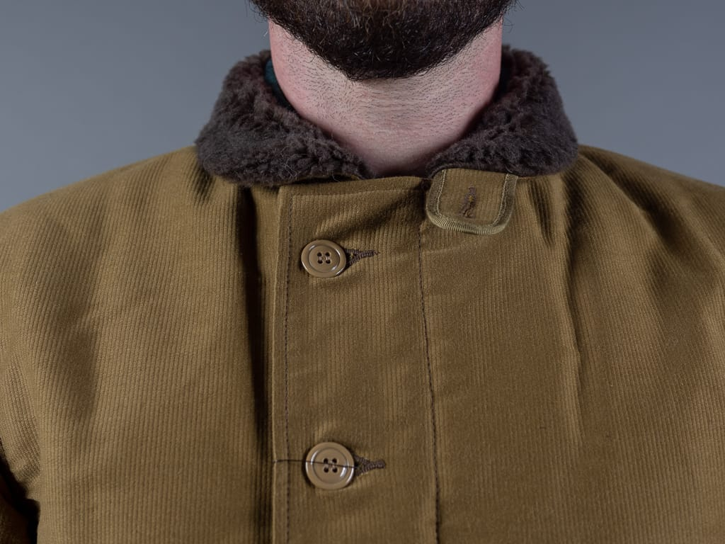 Trophy Clothing N1 Jacket khaki collar