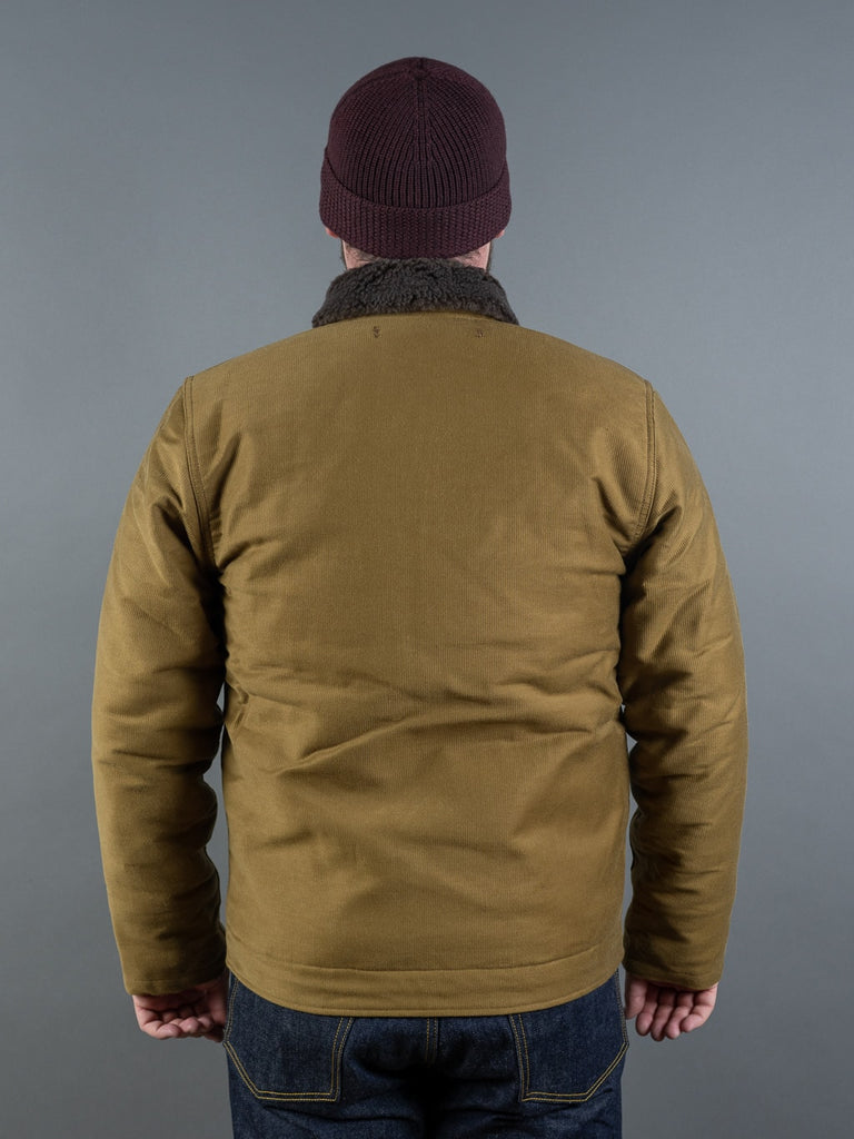 Trophy Clothing N1 Jacket khaki back
