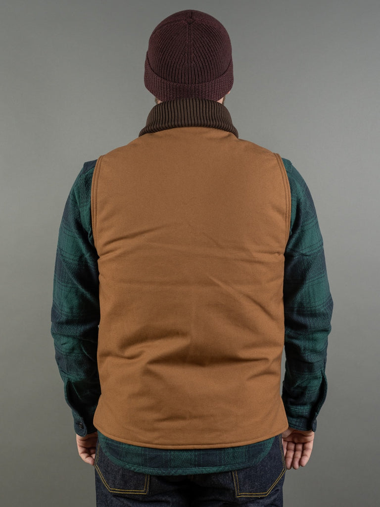 Trophy Clothing Oiled Duck Storm Vest back