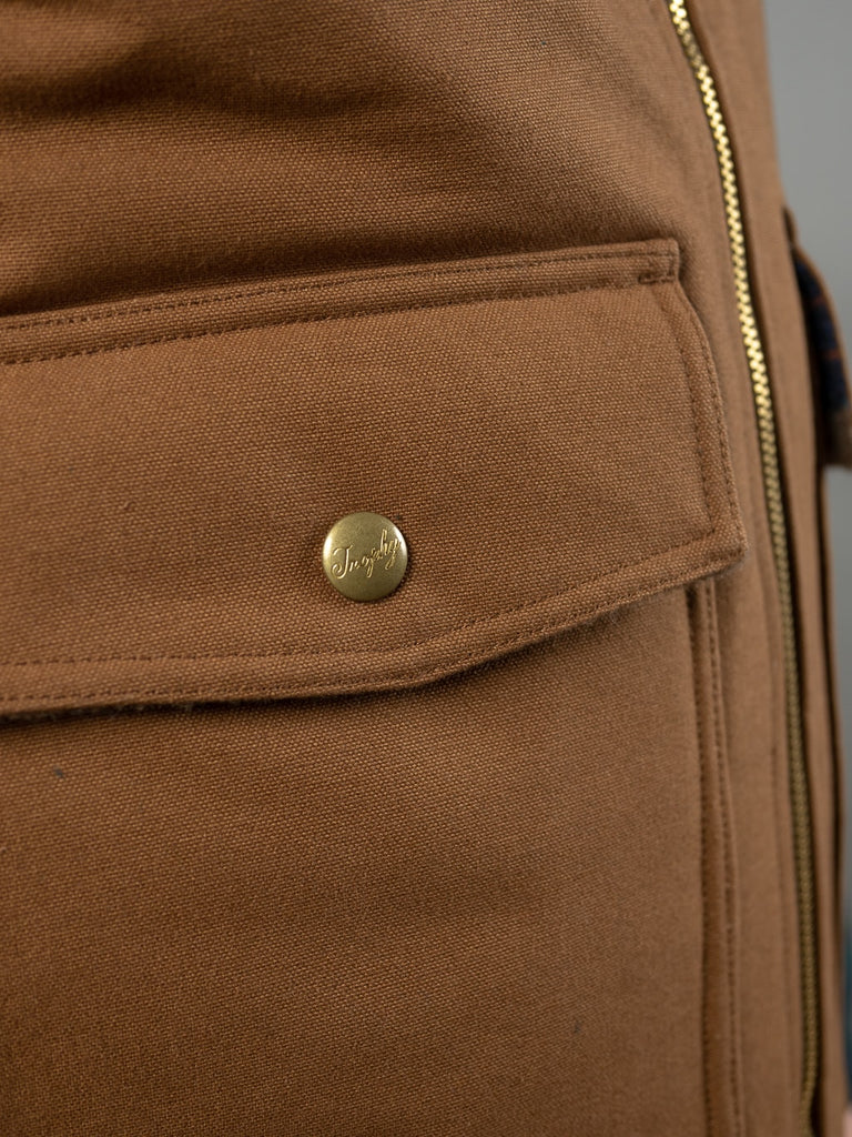 Trophy Clothing Oiled Duck Storm Vest pocket
