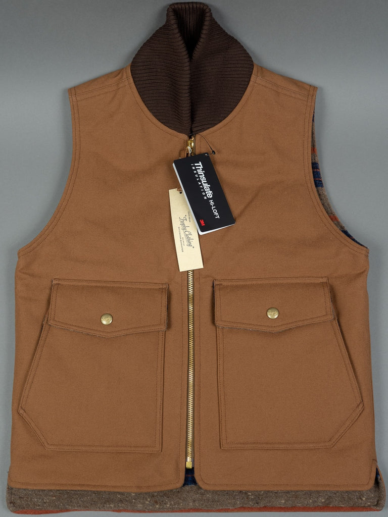 Trophy Clothing Oiled Duck Storm Vest Thinsulate waterproof