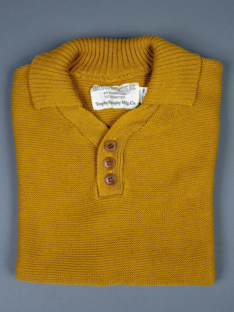 Trophy Clothing Red Cross Summer Polo mustard