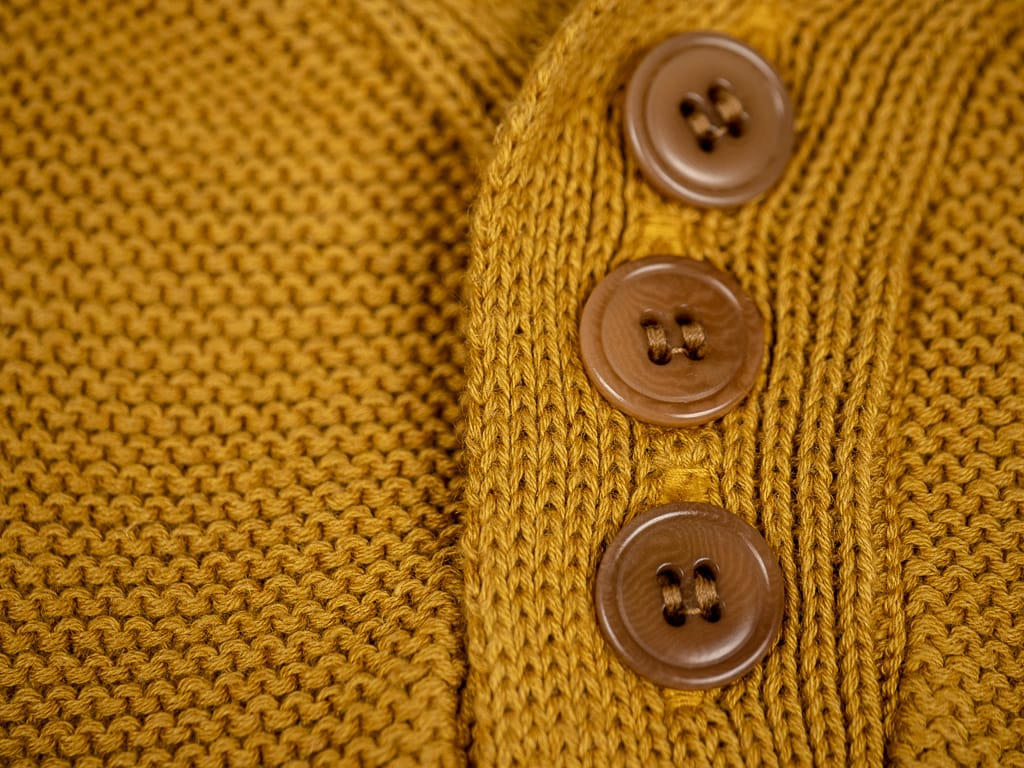 Trophy Clothing Red Cross Summer Polo brown buttons