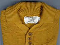 Trophy Clothing Red Cross Summer Polo mustard collar
