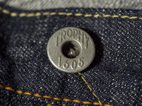 trophy clothing 1605 standard dirt denim jeans donut button