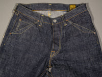 trophy clothing 1605 standard dirt denim jeans waist