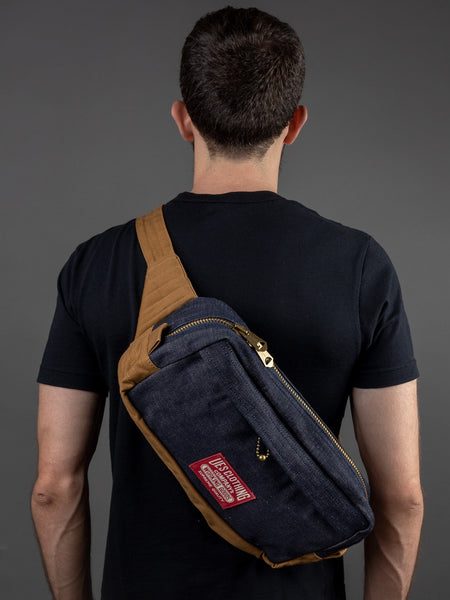 UES 2 Way Body Bag Denim
