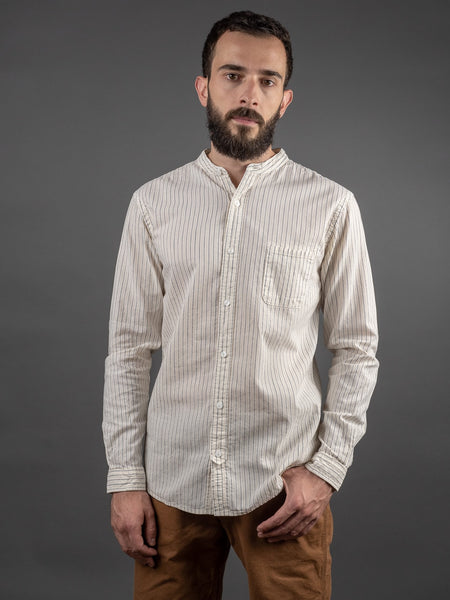 UES Band Collar Shirt