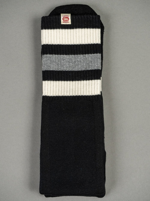 UES Boot Socks black and white